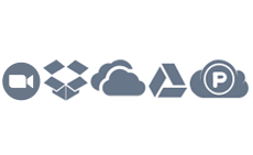 Cloud Storages: Goodle Drive, Dropbox, OneDrive